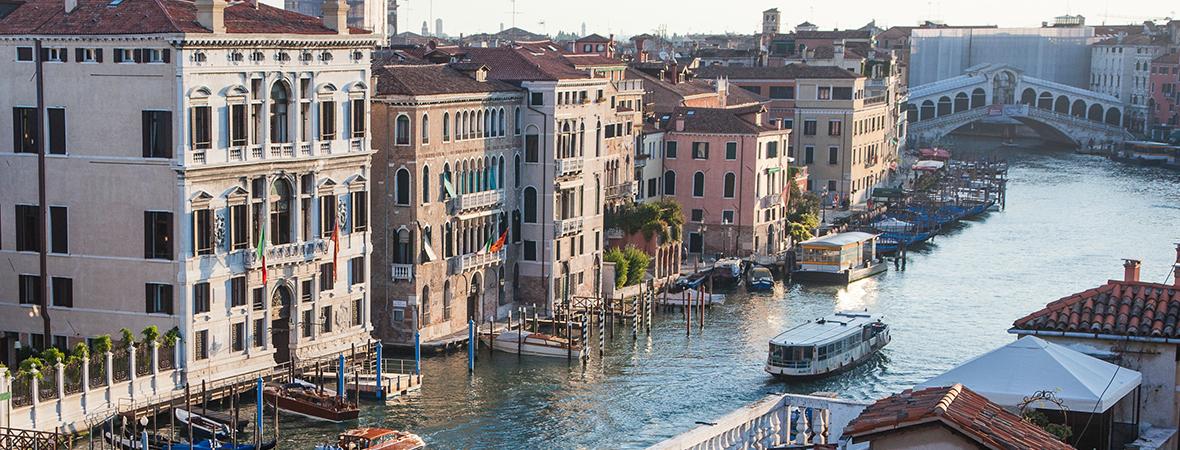 イタリア・水の都ヴェネチアに佇む</p>AMANVENICE3泊5日