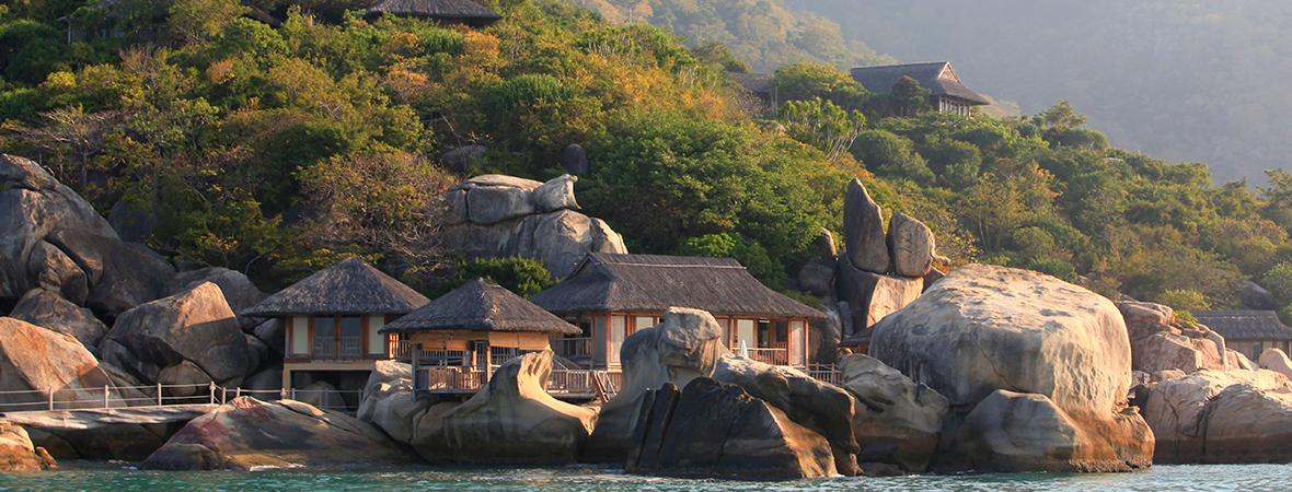 ベトナムの隠れ家的リゾート</p>シックスセンシズ ニンバンベイ3泊5日