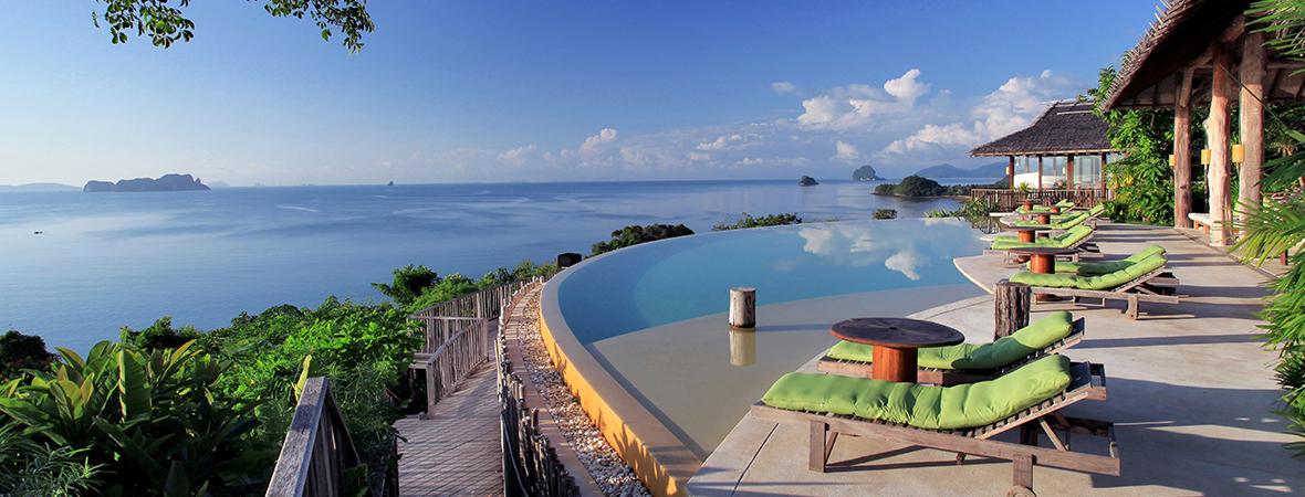 タイ・ヤオノイ島で過ごす</p>シックスセンシズ ヤオノイ3泊5日