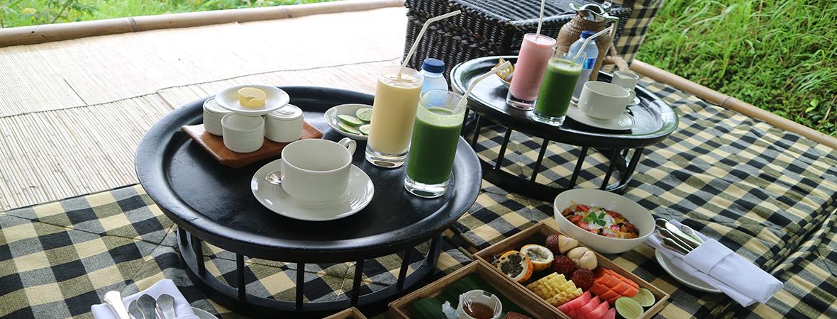 Amankilaでエネルギッシュな朝食を