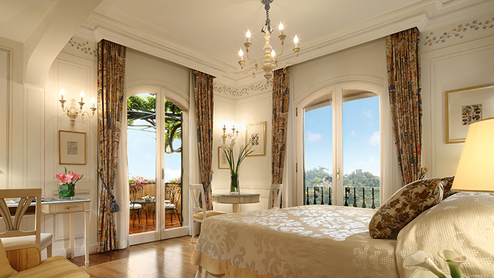 ポルトフィーノを見下ろす天空リゾート「ベルモンド ホテル スプレンディード」3泊5日