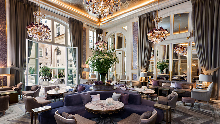 華麗に甦ったパリの伝説ホテル</p> オテル ドゥ クリヨン3泊6日