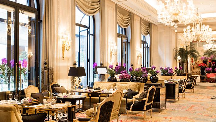 パリのエスプリ溢れる</p>フォーシーズンズ ジョルジュサンク3泊6日